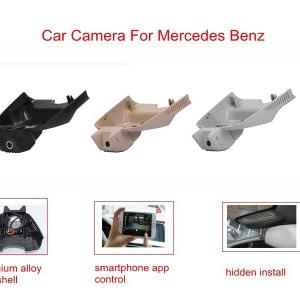 PLUSOBD Free Ship Dash Cam 1080P For Mercedes Benz GLK X204 2009-15 Full HD Car Camera DVR NT96655 170 Degree Via OBDII Adapter
