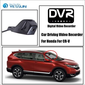 YESSUN HD 1080P Not Rear Back Camera Car DVR Driving Video Recorder For Honda For CR-V - Front Dash Camera