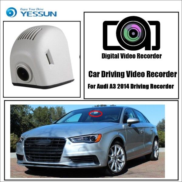 YESSUN for Audi A3 2014 Driving Recorder Car Dvr Mini Wifi Camera Video Full HD 1080P Car Dash Cam Original Style