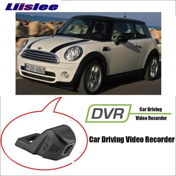 LiisLee For BMW Mini 2015~2018 Car WiFi DVR Dash night vision Camera Registratore Driving Video Recorder