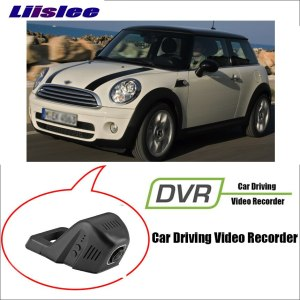LiisLee For BMW Mini 2015~2018 Car WiFi DVR Dash night vision Camera Registratore Driving Video Recorder