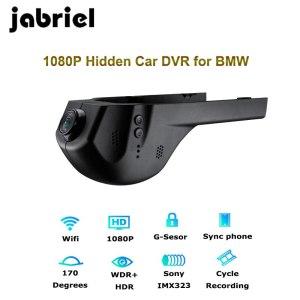 Jabriel 1080P Wifi Hidden car recorder dvr dash cam Rearview camera for bmw 1,2,3,5,7 Series,X1/X3/X5/X6 E46 E90 F30 E39 E60 F10