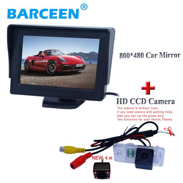 High image sensor car reversing camera for AUDI A6L 2009~2011 /A4/A3/ Q7/S5