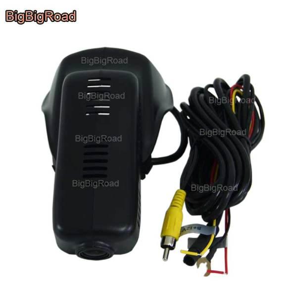 BigBigRoad For Volvo XC60 high Configured 2009-2017 Car Video Recorder Wifi DVR Dash Cam