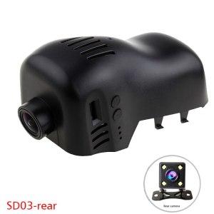 1080P WiFi App Dual Car DVR Dash cam for VW Volkswagen CC Touareg Golf 7 R-Line car recoder DVR Novatek 96658