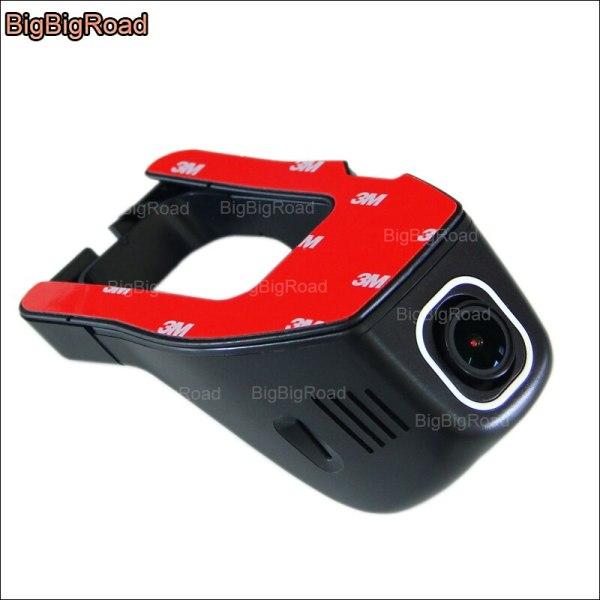BigBigRoad For Honda CR-Z Car wifi DVR Video Recorder Wide angle Novatek 96655 Dash Camera FHD 1080P night vision
