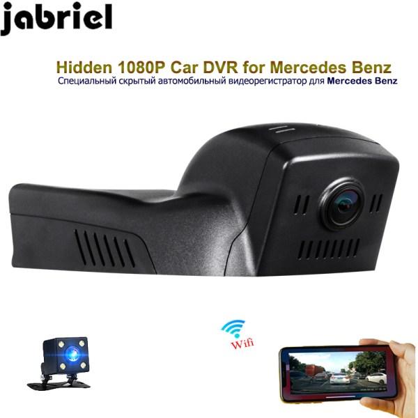 Jabriel auto hidden 1080P dash cam wifi car camera driving recorder rearview camera for Mercedes Benz GLA200 GLA220 GLA260 W156