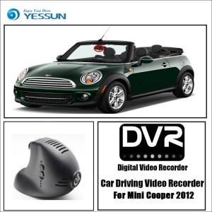 YESSUN for BMW Mini Cooper 2012 2013 Driving Recorder APP Control Car wifi DVR Car Dash Cam Front camera Keep Video Recorder