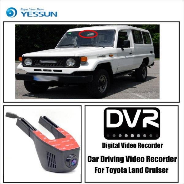 YESSUN for Toyota Land Cruiser Car Driving Video Recorder Wifi DVR Mini Camera Novatek 96658 1080P Dash Cam Night Vision