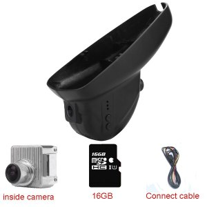 Car Dash Cam DVR for Evoque/ Range Rover/Discovery 4 low specification (year 2010-2014) With WIFI+16GB+1080P+170degree