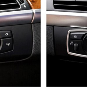 Button Cover Trim For BMW X6 E71 2009-2014