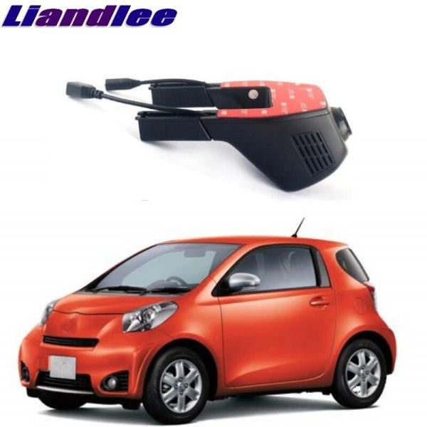 Liandlee For Toyota iQ AJ10 / KGJ10 / NGJ10 / NUJ10 2008~2015 Car Road Record WiFi DVR Dash Camera Driving Video Recorder