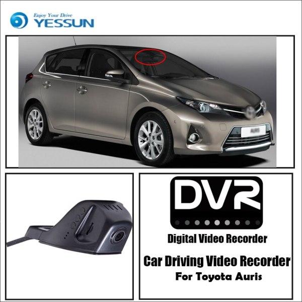 YESSUN for Toyota Auris Car Wifi DVR Mini Camera Driving Video Recorder Novatek 96658 Registrator Dash Cam Night Vision