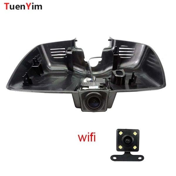 1080P Car Wifi DVR For Ford Mondeo 2015 High configuration Car Video Recorder Novatek 96655 dash cam Dual Cameras