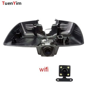 1080P Car Wifi DVR For Ford Mondeo 2015 High configuration Car Video Recorder Novatek 96655 dash cam Dual Cameras