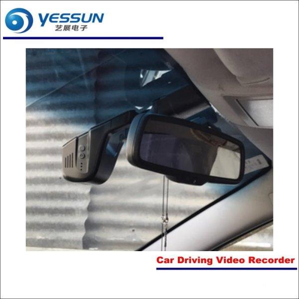 YESSUN Car Dvr Camera Camera Driving Video Recorder For Toyota Prius AUTO Rearview Camera Dash CAM WIFI Dash Camera