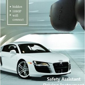 PLUSOBD Wifi Car Camera For Audi A4 A5 A6 A7 Q5 A8 Q7 Dash Cam 1080P Phone APP+Aluminium Alloy Inner Shell+OBDII Hot In Russian