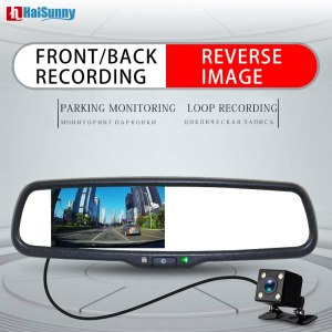 HD 720P Car Mirror DVR Monitor Dash Camcorder Car Rear View Camera Cam Corder Video Recorder Car DVR For Kia Hyundai Ford Mazda