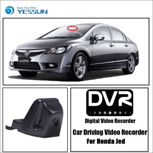 YESSUN for Honda Jade 2013~2017 Car Driving Video Recorder DVR Mini Wifi Camera Novatek 96658 FHD 1080P Dash Cam Original Style