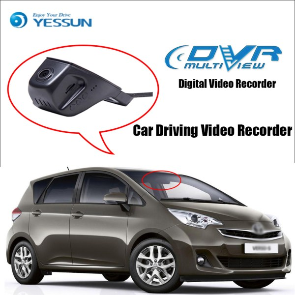 YESSUN for Toyota Verso EZ Car Driving Video Recorder Wifi DVR Mini Camera Novatek 96658 FHD 1080P Dash Cam Night Vision