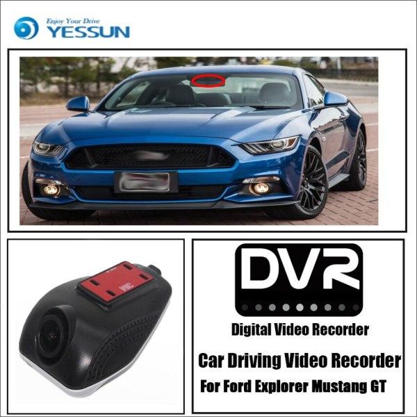 YESSUN for Ford Explorer Mustang GT Car Driving Video Recorder Wifi DVR Mini Camera Novatek 96658 Dash Cam Night Vision