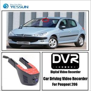 YESSUN for Peugeot 206 Car Wifi DVR Mini Camera Driving Video Recorder Novatek 96658 Registrator Dash Cam Night Vision
