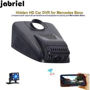 Jabriel wifi hidden 1080P car driving recorder car dvr dual lens dash cam for 2014 2015 2016 2017 2018 Mercedes Benz C180 C200