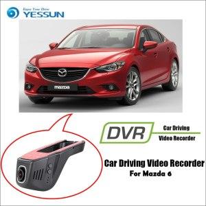 YESSUN for Mazda 6 Car DVR Driving Video Recorder Mini Control APP Wifi Camera Registrator Dash Cam Night Vision