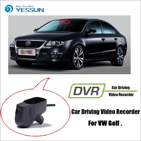YESSUN for Volkswagen Golf Car Driving Video Recorder DVR Mini Wifi Camera Novatek 96658 FHD 1080P Dash Cam