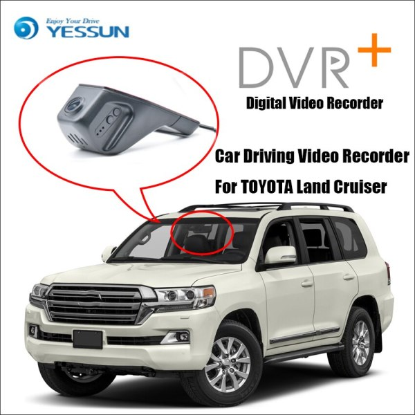 YESSUN For TOYOTA Land Cruiser Car DVR Digital Driving Video Recorder - Front Dash Camera Front CAM HD 1080P