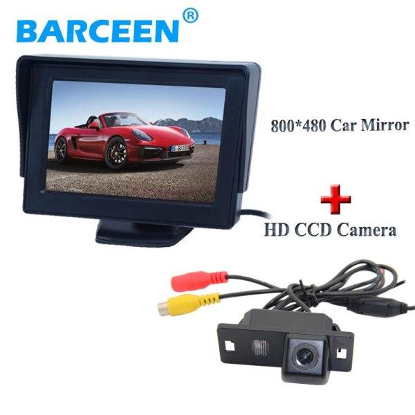 Audi A4L 2013-2014 / TT/ A5/ A6/Q5 car parking camera with screen monitor