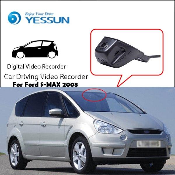 YESSUN for Ford S-MAX 2008 Car Mini DVR Driving Video Recorder Control APP Wifi Camera Registrator Dash Cam