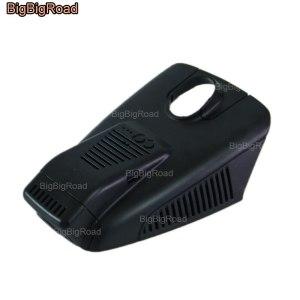BigBigRoad For Mercedes-Benz C180 C200 C260 GLC260 W202 W203 W204 W205 Car Video Recorder Car Wifi DVR Dash Cam