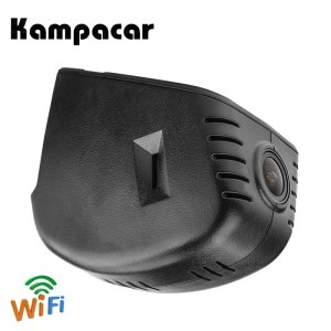 Kampacar Car Wifi Video Recorder Dash Cam Camera DVRs For Audi A1 A4 A6 Q5 Q3 A8 A7 R8 2014 2015 Q7 2016 2017 Q2 2018 2019 DVR