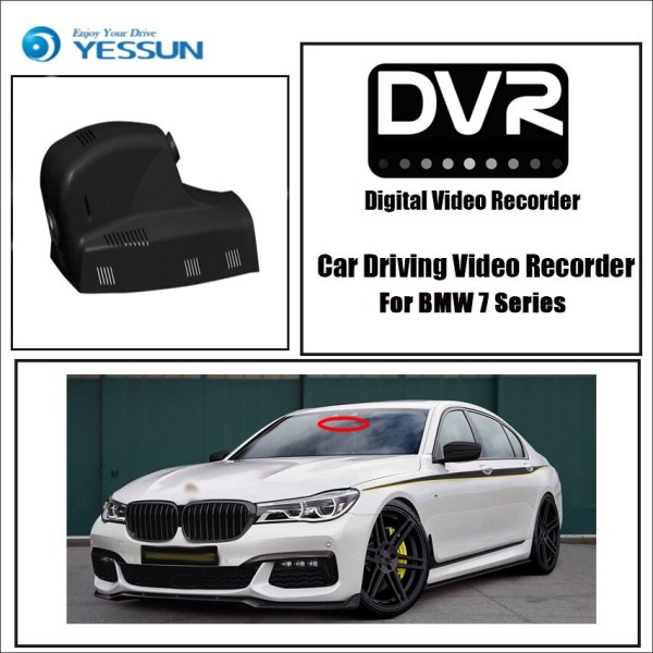 Dedicated BMW 7 Series Car Dash Cam Front camera