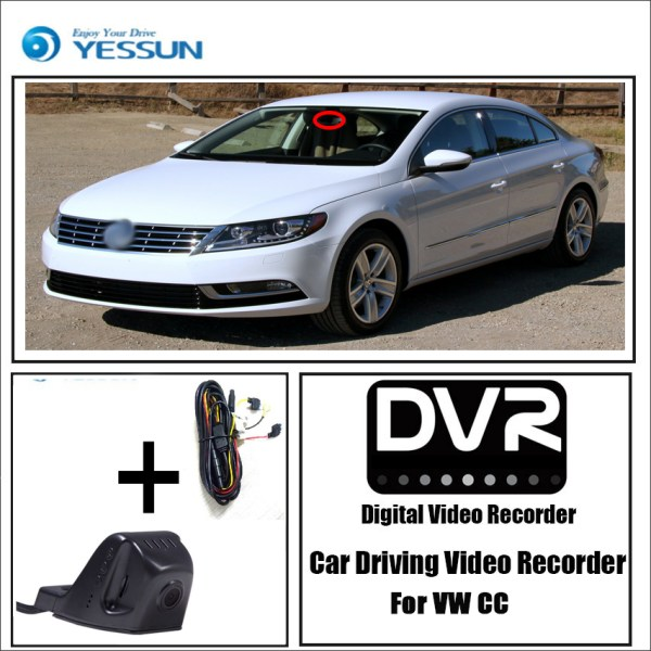 YESSUN for Volkswagen CC Car DVR Mini Wifi Camera Driving Video Recorder Novatek 96658 Registrator Dash Cam Night Vision