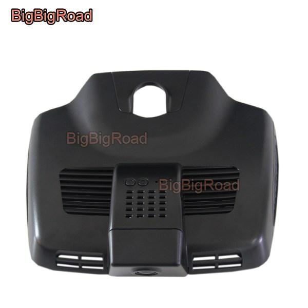 BigBigRoad Car wifi DVR Video Recorder Dash Cam For Mercedes Benz E Class E200 E300 E300 E320L W213 2016 2017 2018 high Version