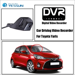 YESSUN Not Reverse Parking Camera Car DVR Digital Video Recorder for Toyota Yaris Front Camera Dash HD 1080P