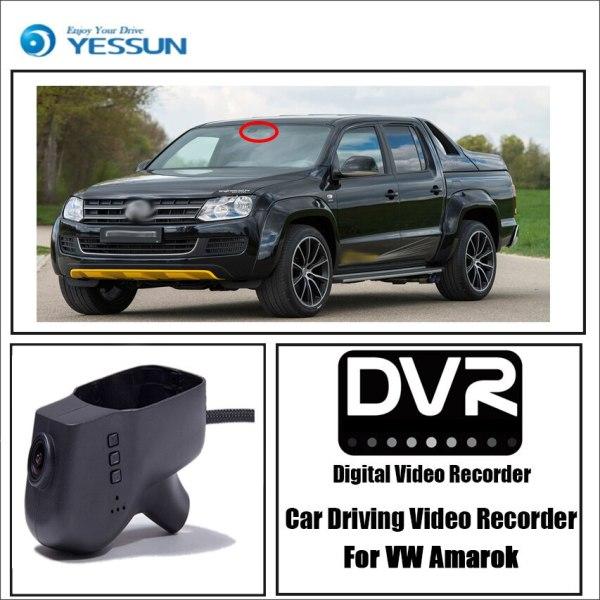 YESSUN for Volkswagen Amarok Car Driving Video Recorder DVR Mini Control APP Wifi Camera Registrator Dash Cam