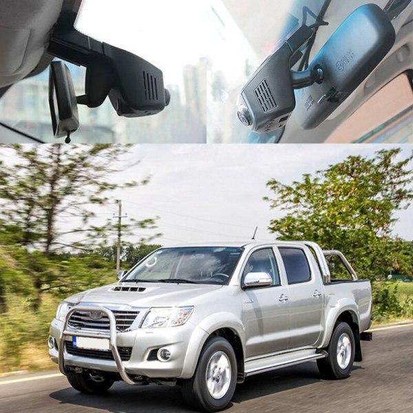 BigBigRoad For Toyota Hilux Matrix Supra Crown VIOS / For lada kalina 1 2 Car Wifi DVR Video Recorder Dash Camera