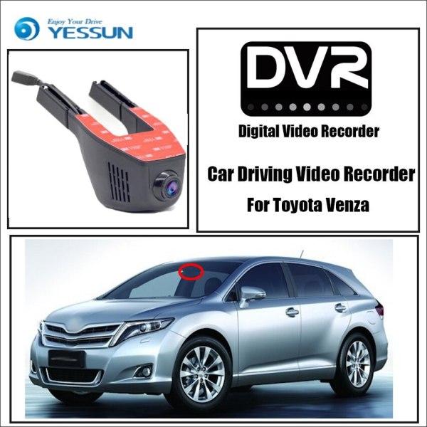 YESSUN for Toyota Venza Car Driving Video Recorder Wifi DVR Mini Camera Novatek 96658 FHD 1080P Dash Cam Night Vision