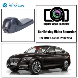 YESSUN Driving Recorder Car Wifi Dvr Mini Camera for BMW 5 Series 525Li 2014 Novatek 96658 Car Dash Cam Video Recorder