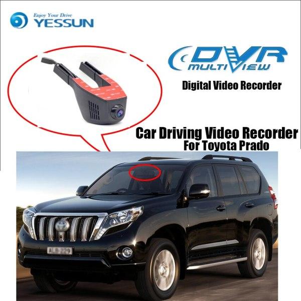 YESSUN for Toyota Prado Novatek 96658 Car Mini DVR Driving Video Recorder Control Wifi Camera Registrator Dash Cam