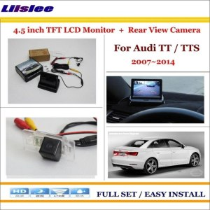 "Liislee For Audi TT / TTS 2007~2014 Car Reverse Backup Rear Camera + 4.3"" LCD Screen Monitor = 2 in 1 Rearview Parking System"