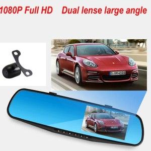 Rearview Mirror Dash Cam G-Sensor HD 1080P