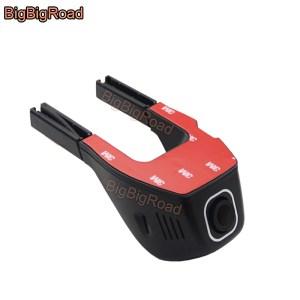 BigBigRoad Car Dash Cam Car Wifi DVR For Ford Kuga 1 2 Edge E350 Falcon Maverick ACADIA Video Recorder Dual Lens