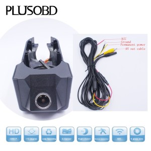Car Dash Cam DVR Video Recorder for Mercedes Benz B Class (W245/W169,Year 2007-2012) with AV-OUT cable
