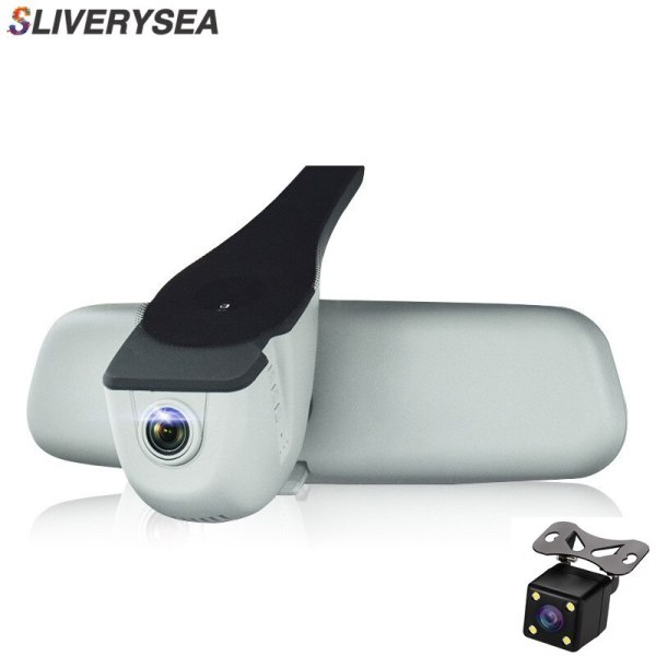 Car DVR Dash Cam Registrator Dual Camera Full HD 1080P Night Vision Video Recorder WiFi For Audi A1 A3 A4L A5 A6 Q3 Q5