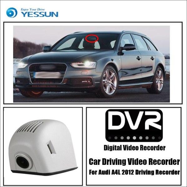 YESSUN for Audi A4L 2012 Driving Recorder Car Wifi Dvr Mini Camera Novatek 96658 1080P Car Dash Cam Video Recorder