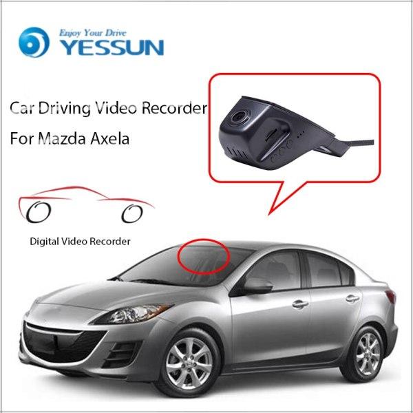 YESSUN for Mazda Axela Wifi DVR HD Wifi Car Dash Cam 2160P 60fps Car DVR Camera Video Recorder